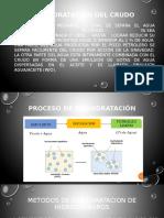 Conducción y manejo de hidrocarburos- deshidratación de petroleo