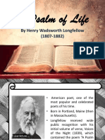 Psalm of Life (Discussion)