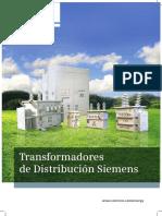 Catalogo Tranaformadores Siemens 2014