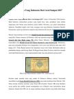 Sejarah Mata Uang
