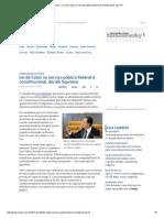 ConJur - Lei de Cotas No Serviço Público Federal é Constitucional, Diz STF