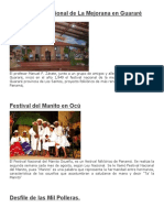 Costumbres y Tradiciones de Panama