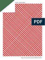 Papel Decorativo Cuadros Rojos Make It Creativee