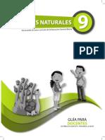 Guia Docente Naturales Egb 9no