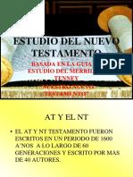 Guía de Estudio Nuevo Testamento MERRILL C. TENNEY