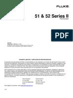 Termometro Fluke 52-II