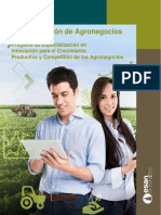 Maestría Agro Brochure