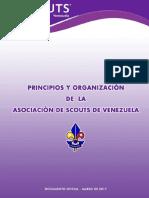 Principios y Organización (Version Oficial 2017)