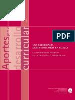 Aisenberg-Carnovale-Larramendy - Una Experiencia de Historia Oral en El Aula (2001)