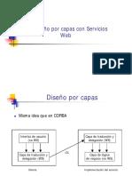 Diseño Por Capas Servicios Web