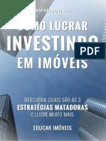 Como LUCRAR Investindo Em Imóveis V04