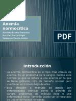 Anemia Normocitica