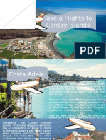 Take a Flights to Canary Islands