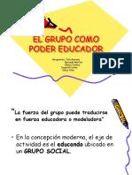 El Grupo Como Poder Educador