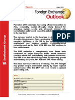 ScotiaBank AUG FX Outlook