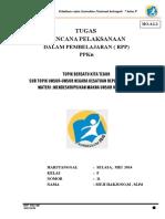 RPP SMP Kls 8 Pertemuan 1