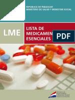 Libro - Lista de Medicamentos Esenciales