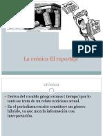 Cronica Reportaje