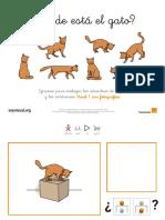 Donde Esta El Gato Conceptos Espaciales Fotos Nivel 1