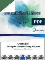 3. ITS Activities in Korea(0929)
