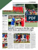 La Provincia Di Cremona 27-07-2017 - Serie B
