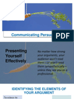 communicating persuasively -ppp