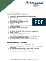 Mascoat DTI Advantages 1