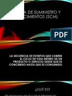 Cadena de Suministro y Abastecimientos (SCM) CLASE 2