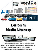 Presentation1 Media and Information
