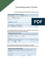 SAP Production& Planning