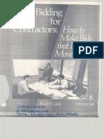 Handbook of Construction Estimate