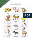 Animales Domesticos Aymara