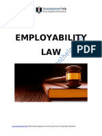 Employability Law for Effective Organizational Management