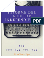 Ejemplo Informe de Auditoria Independiente 2