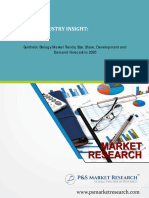 Synthetic Biology Market Trends, Size, Share and Forecast to 2020 by P&S Market Research