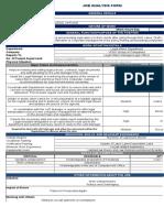 Job Analysis Template Legal Affairs Department
