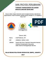 Arief Budiman - Sistem Informasi Manajemen Relawan Penanggulangan Bencana