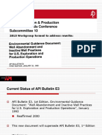 API SC10_API Bulletin E3 Status_Jan 2016_rev 2