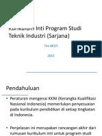 Rancangan Final Kurikulum Inti - BKSTI Versi 6