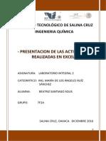 Archivo Word de Los Ejercicios en Excel