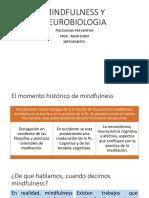 Mindfulness y Neurobiologia