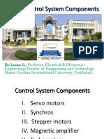 Unit-5 Control System Components