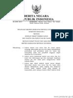 PERMEN KEMENKES Nomor 88 Tahun 2014 (Kemenkes No 88 Th 2014)