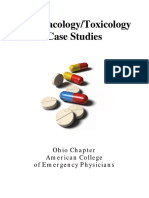 Pharmacology Toxicology Case Studies