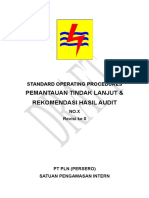 7 SOP Pemantauan Tindak Lanjut Dan Rekomendasi Hasil Audit 060515