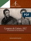 Folleto-Congreso de Cariaco 1817-Bicentenario de Una Rivalidad