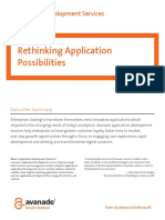 Enterprise Application Development Brochure