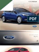 Catalogo Nuevo Ford Focus