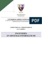 Plan de Estudios T109IngSistemasInformaticosUAI
