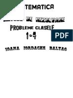 Metode de Rezolvare Mate Cls 1-4 (Ioana Baltag)